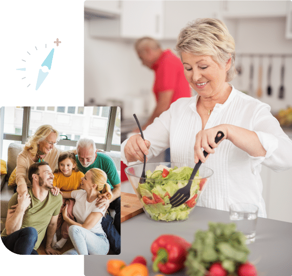 Partner with us for chronic disease management programs and receive detailed education and personalized guidance to improve overall health and wellbeing, SentryHealth