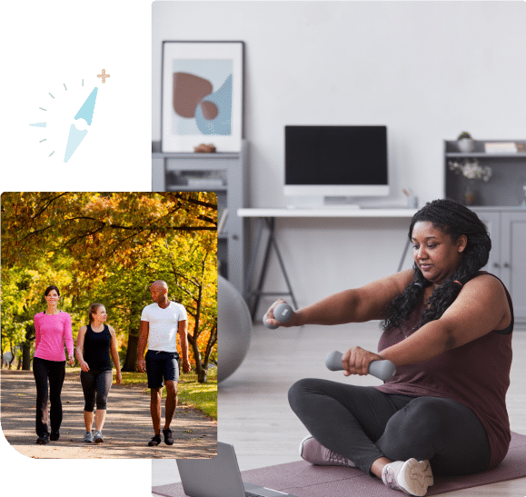 Incorporating a competitive element like health and fitness challenges into your employee wellbeing strategy encourages participation, improves program satisfaction, SentryHealth
