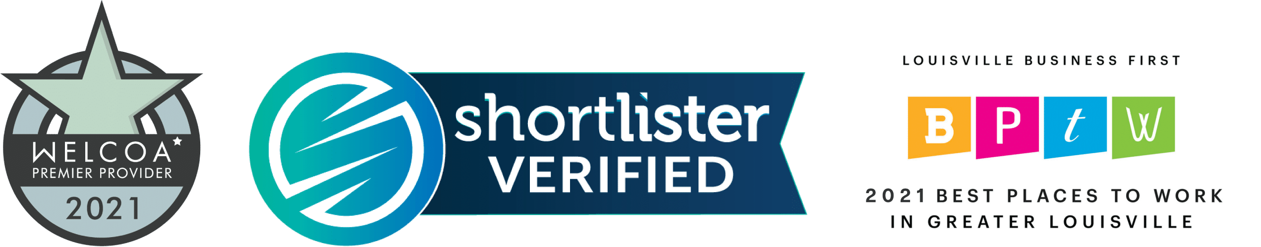 SentryHealth, Welcoa Premier Provider, Shortlister Verified, Best Places to Work